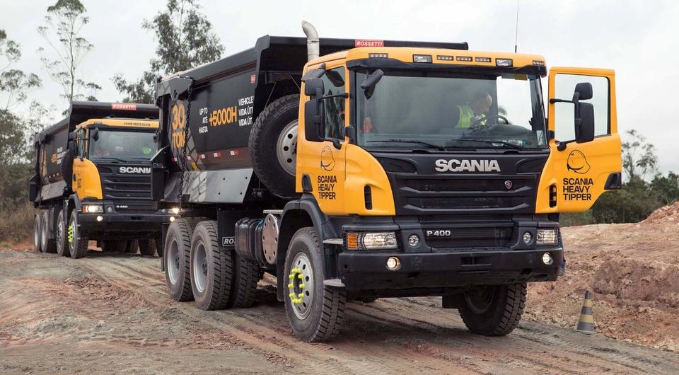 Scania Heavy Tipper. Карьерный новичок