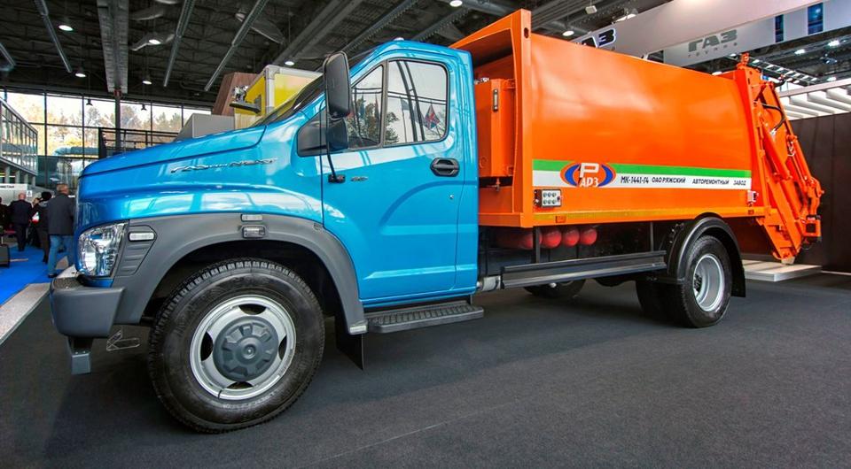 «Газон NEXT» как газовый мусоровоз