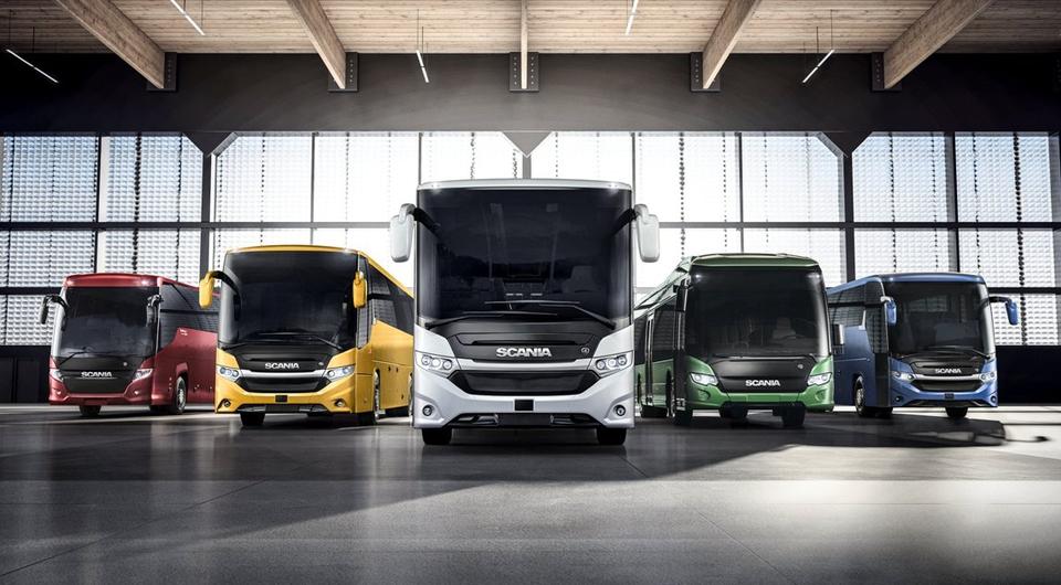 Автобусы Scania с гибридным и электрическим приводом