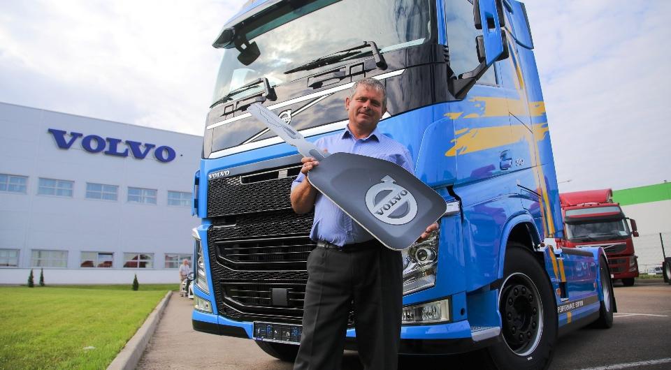 Российские перевозчики получают первые Volvo FH Viking