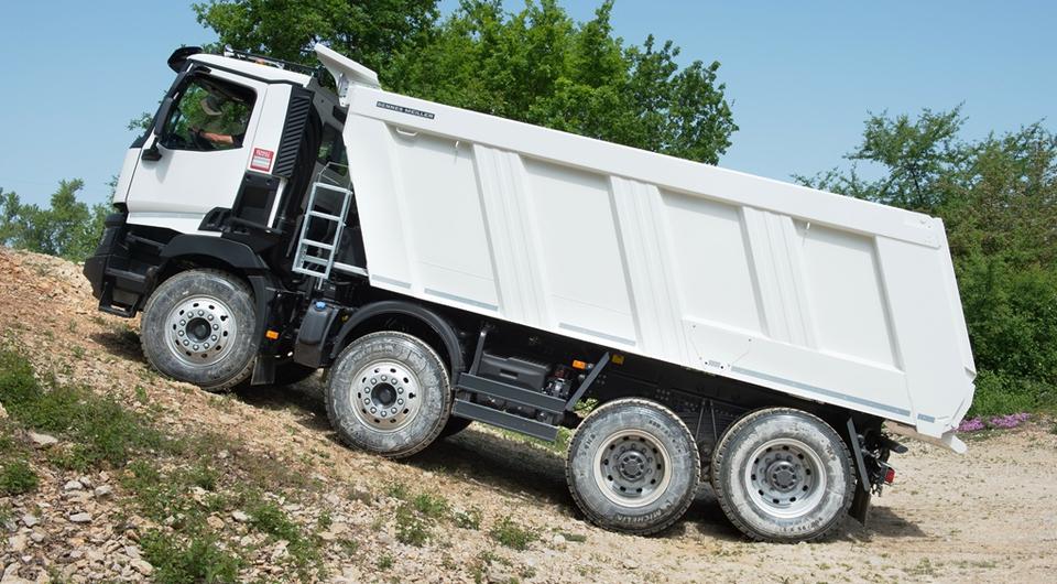 Сверхнизкие передачи для грузовиков Renault Trucks