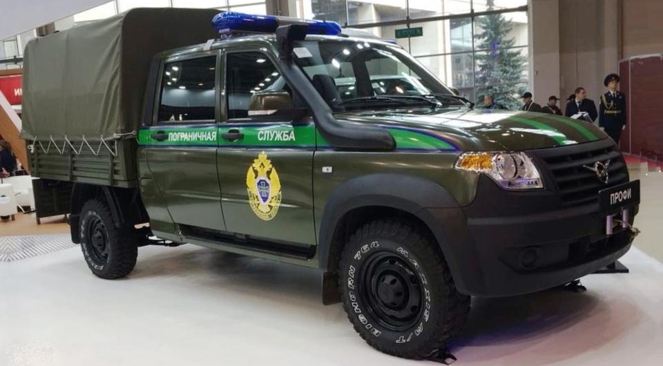 «УАЗ Профи» стремится в силовые структуры