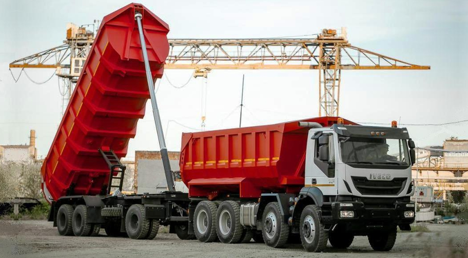 «Ивеко-АМТ» и САВ: тяжелые самосвальные автопоезда