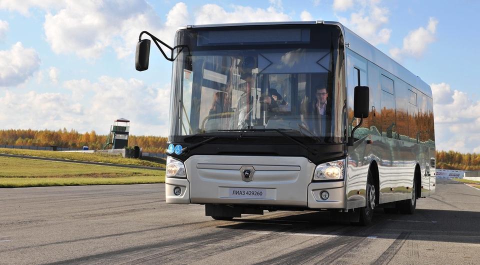 Ликинские автобусы отправляются в Казахстан