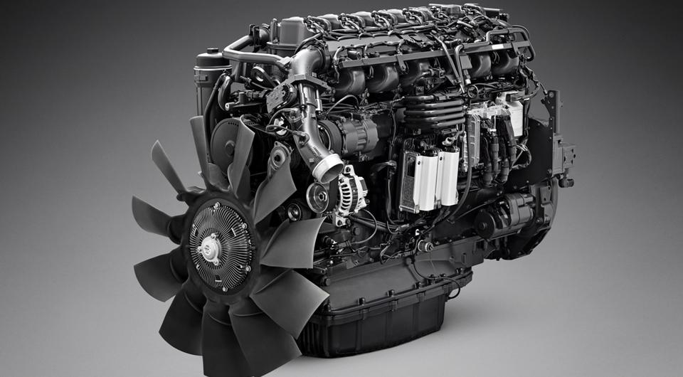 Scania OC13: новейший газовый двигатель