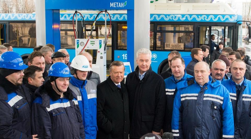 В Москве открыта крупнейшая газонаполнительная станция