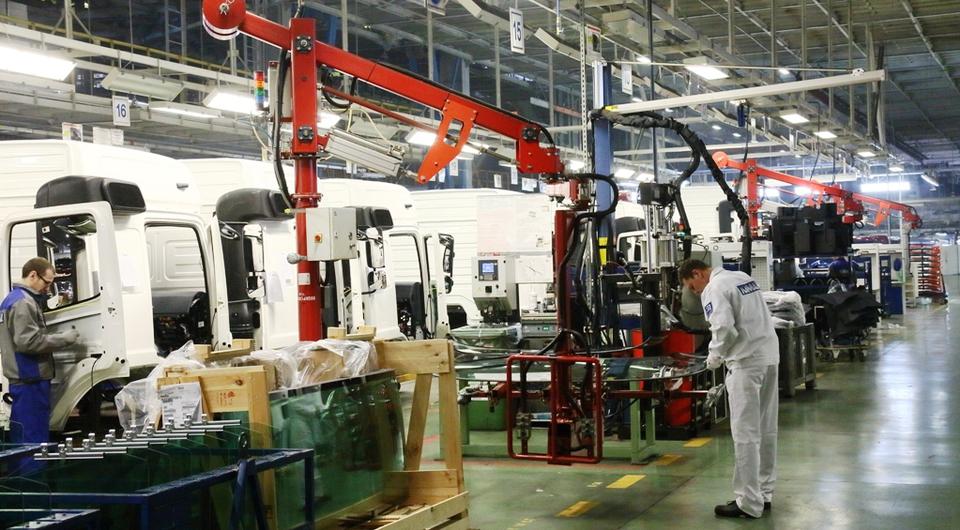 КАМАЗ модернизирует конвейер новых кабин