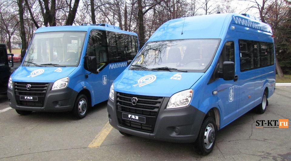 Автобусы «Газель NEXT» собрались на работу в Москву