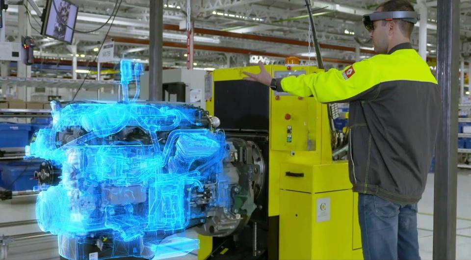 Renault Trucks: качество через смешанную реальность