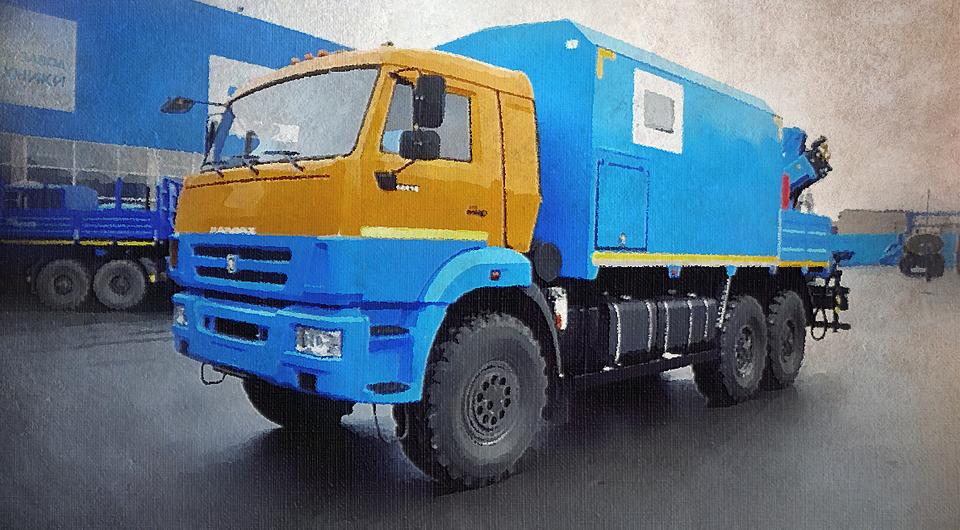 Уральский завод спецтехники: новый ПАРМ на КАМАЗ-43118