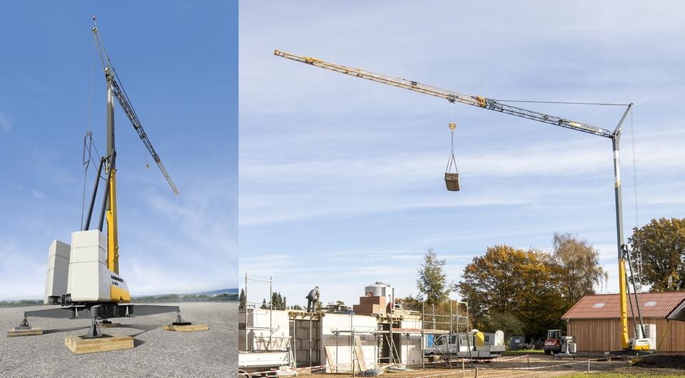 Liebherr: новый кран для малоэтажного строительства