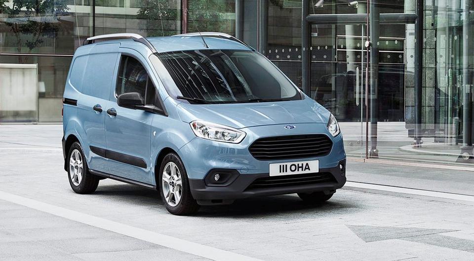 Transit, Tourneo, Courier: Ford обновляет малотоннажники