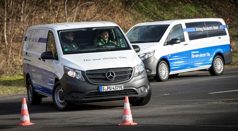 Mercedes-Benz eVito: начало продажам положено
