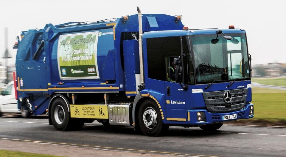 Mercedes-Benz Econic: электрификация мусоровоза