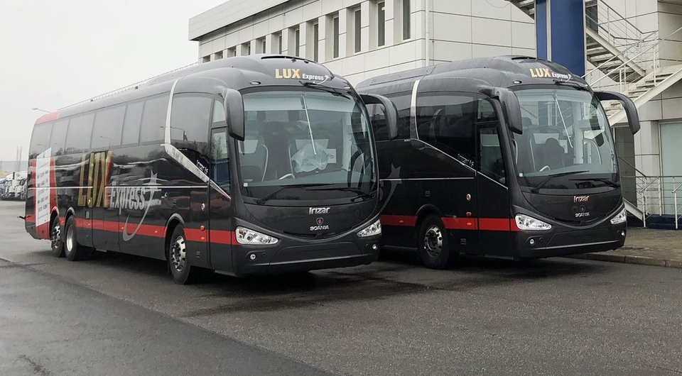 Scania Irizar i6: из Петербурга в Прибалтику