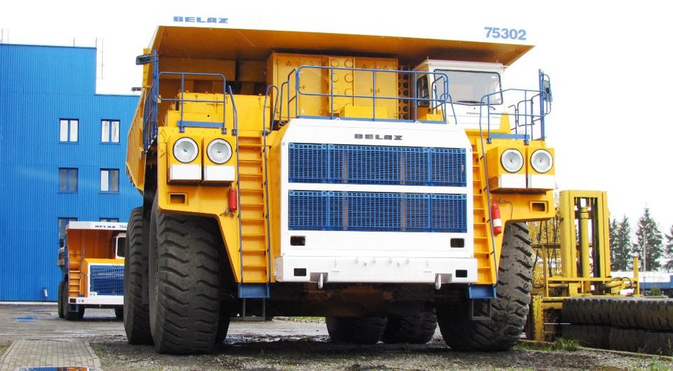 Три БЕЛАЗ-7530 для Лебединского ГОКа