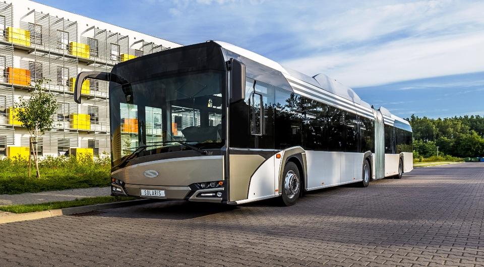 Solaris: крупнейший контракт на 18-метровые электробусы