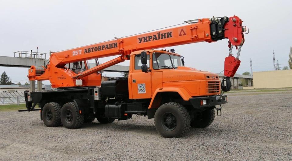 АВТОКРАЗ: 25-тонные автокраны для «Укргаздобыча»