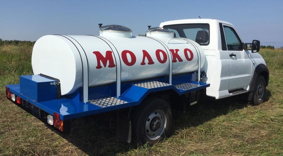УАЗ «Профи» как бензовоз и как молоковоз