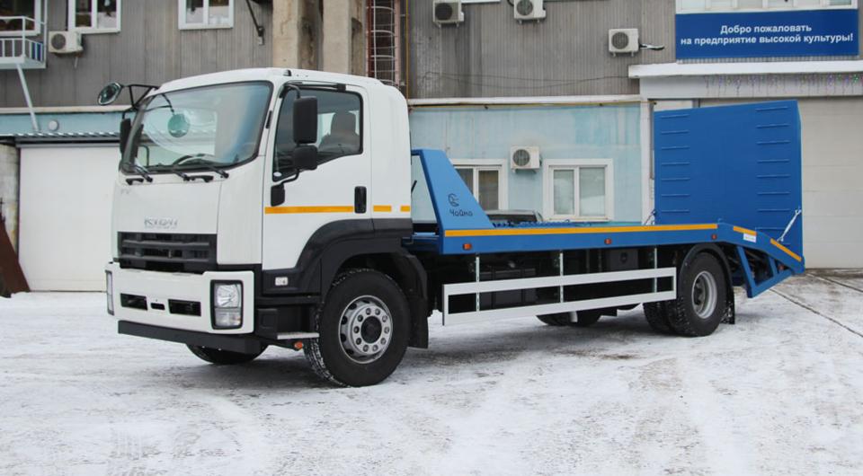 «Чайка-Сервис»: Isuzu Forward как 8-тонный эвакуатор