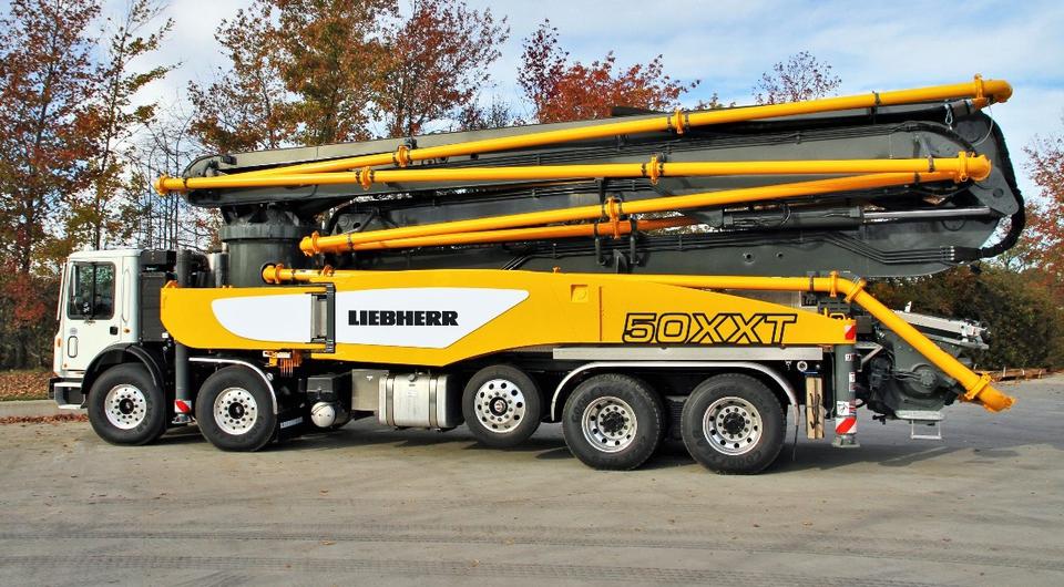 Liebherr представил 50-метровый автобетононасос