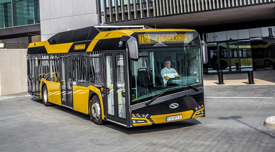 Газовые автобусы Solaris уедут в Чехию