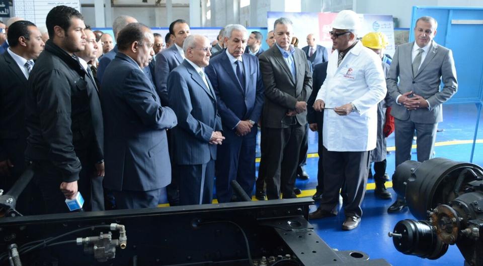 МАЗ открыл сборочный завод в Египте