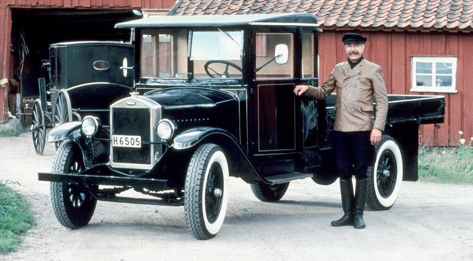 90 лет первому грузовику Volvo