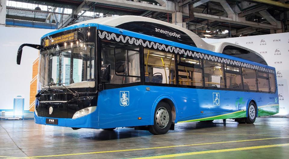 Электробус с ультрабыстрой зарядкой для Москвы