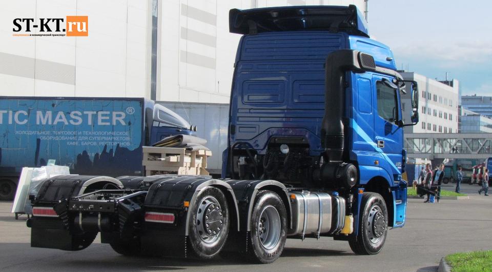 КАМАЗ-65209 6х2 запущен в серийное производство
