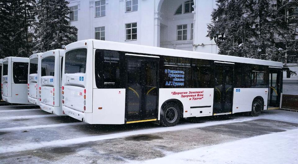 Кузбасс получил городские и пригородные автобусы НЕФАЗ