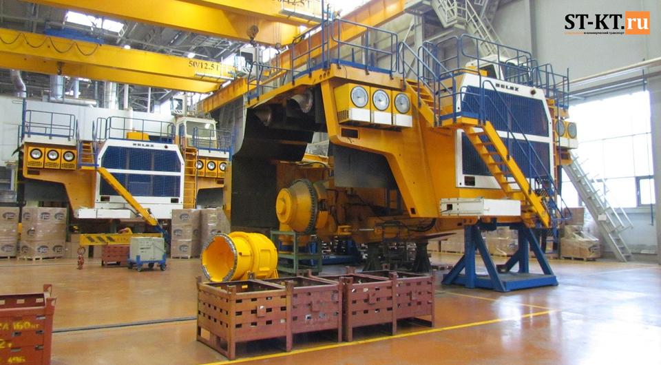 Январь-февраль 2018: БЕЛАЗ растет вместе с ростом экспорта