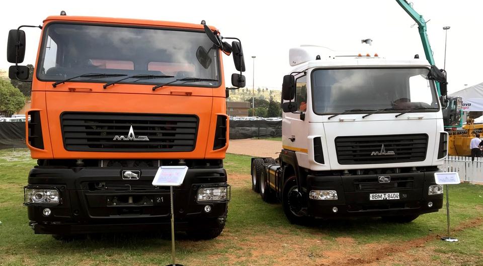 Минский автозавод нацеливается на ЮАР