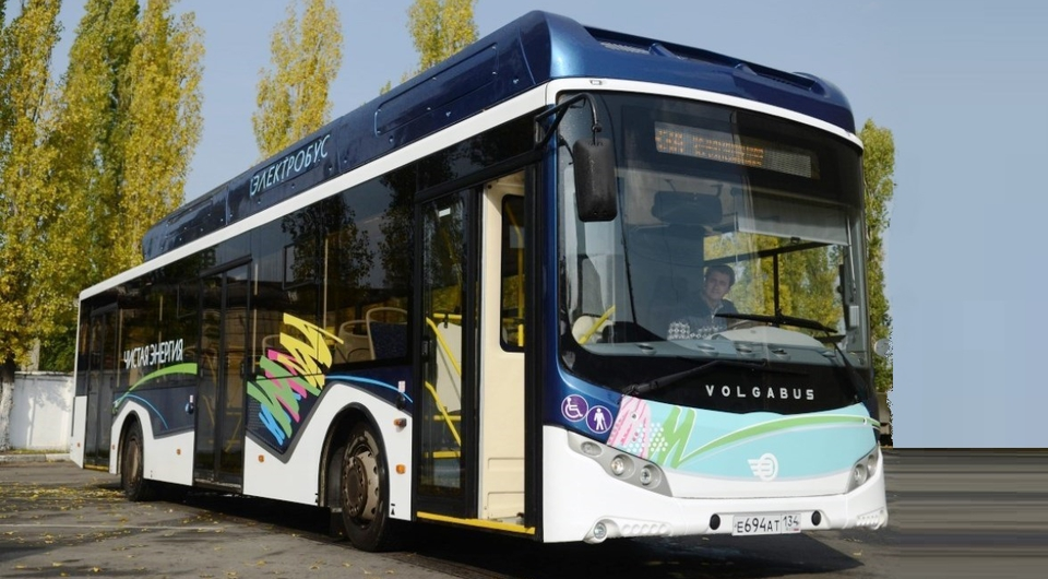 Электробус Volgabus: крымскими маршрутами