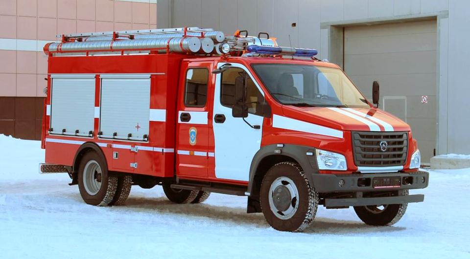 Пожарный «Газон NEXT» с системой тушения NATISK