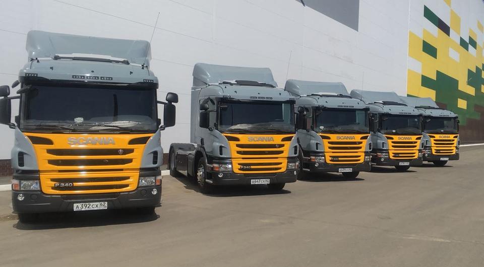 «Грейн Холдинг» получил газомоторные Scania