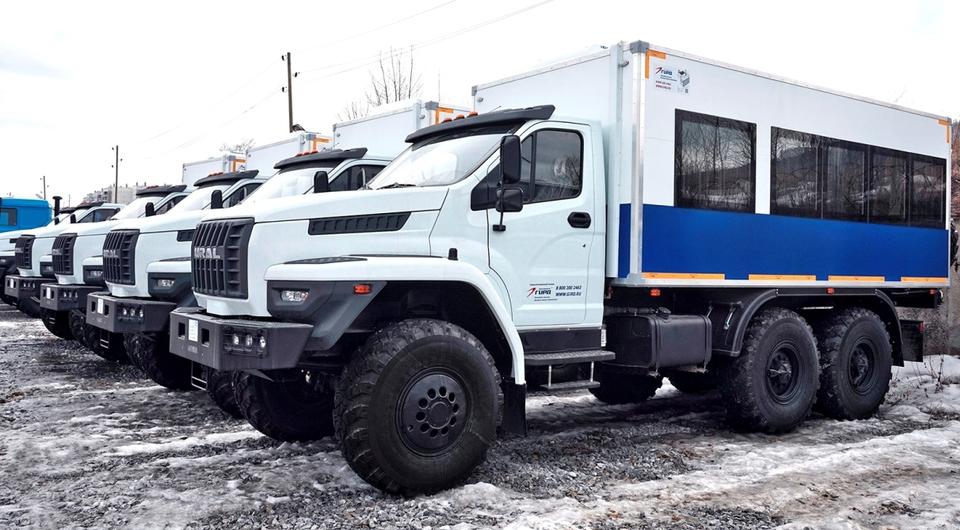 Вахтовые автобусы «Урал NEXT» для «Транснефти»