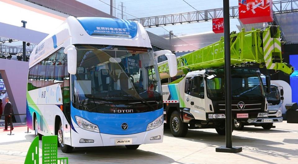 Foton AUV. Водородные автобусы в серии
