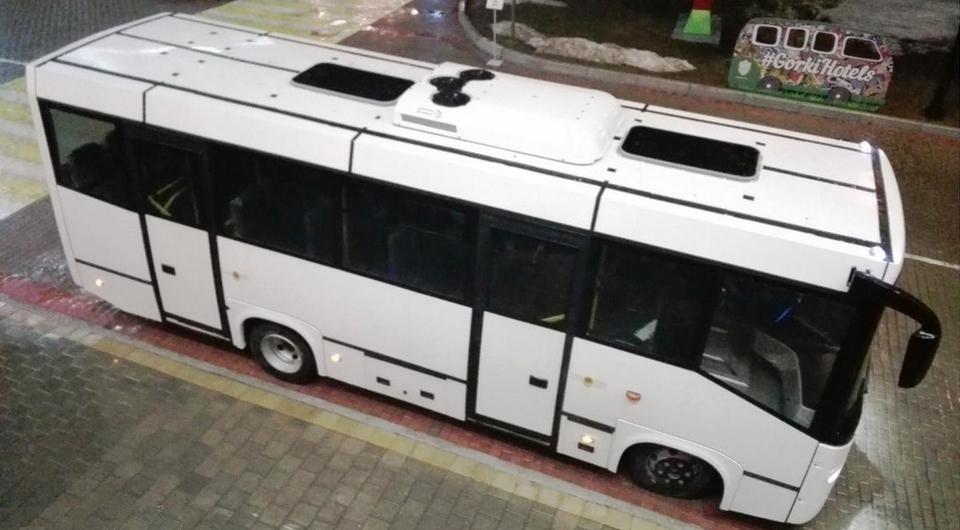 Накрышный кондиционер для автобусов СИМАЗ