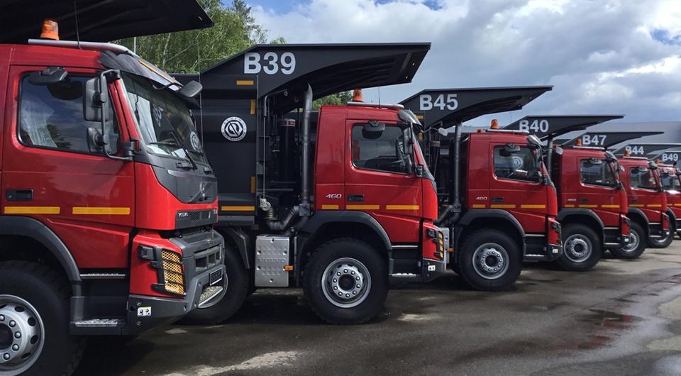 Volvo FMX для Угольной компании Бурятии
