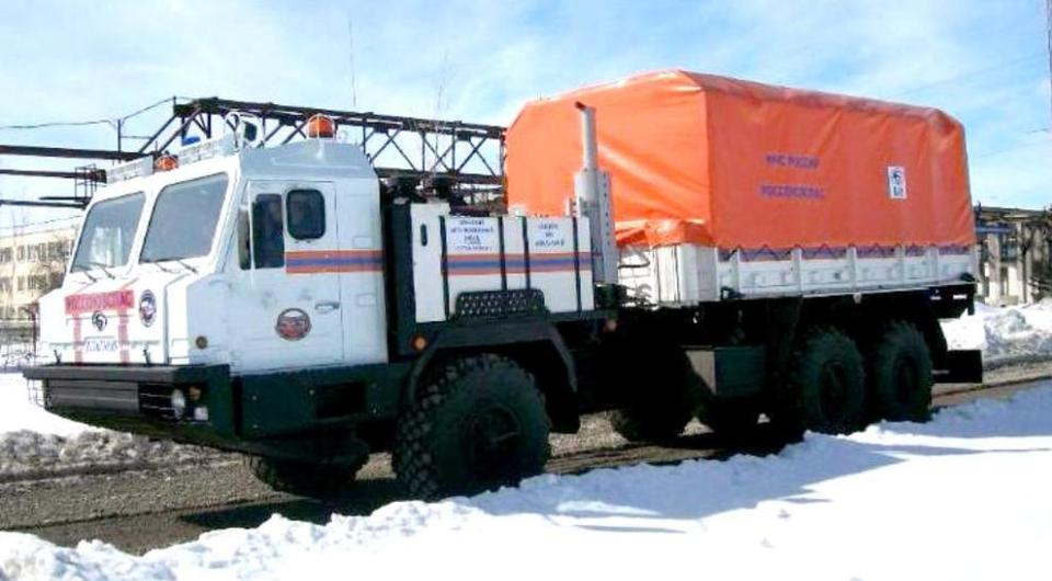 Брянский арктический вездеход для МЧС