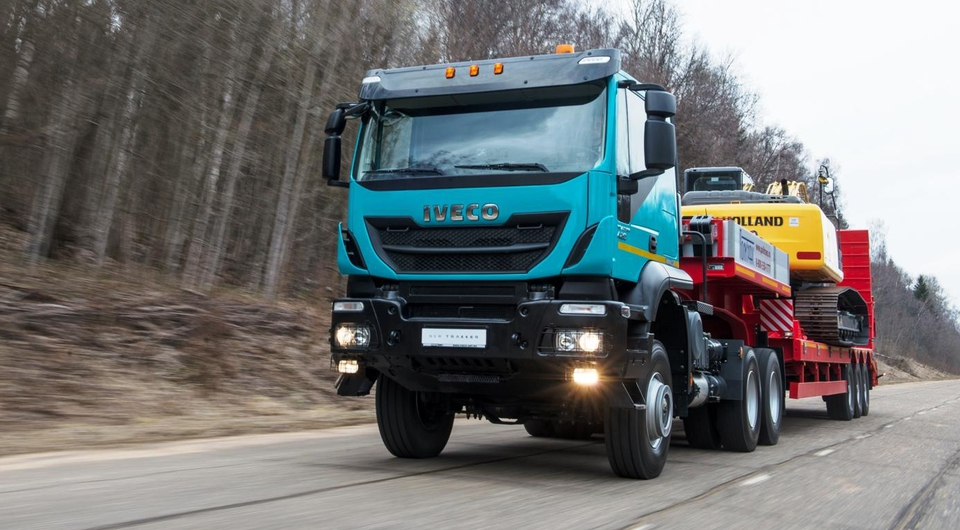Iveco Trakker Special Edition: новая серия седельных тягачей
