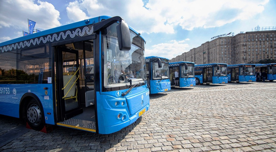 Поставки ЛиАЗа в Москву в 2018 году перевалили за полтысячи автобусов