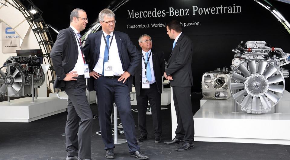 Сервис-центр МАЗа в Минске обслужит дизели Mercedes-Benz