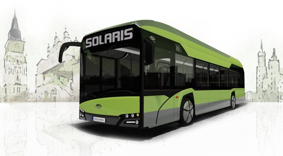 Solaris выводит на рынок водородный автобус