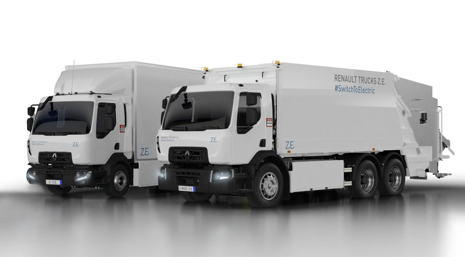 Renault Trucks: второе поколение городских электротраков