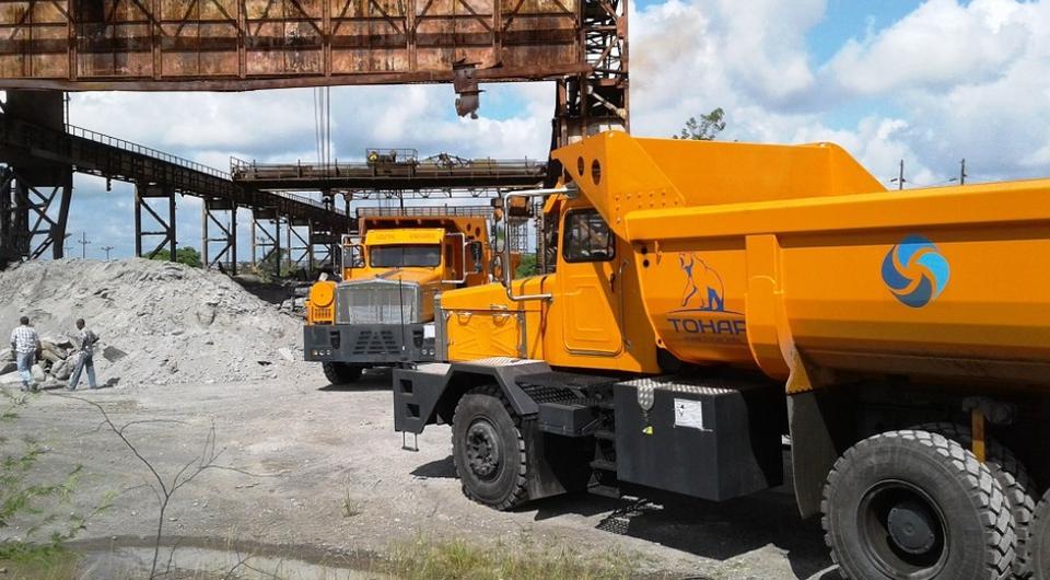 Карьерные ТОНАР-45251 поставлены на Кубу