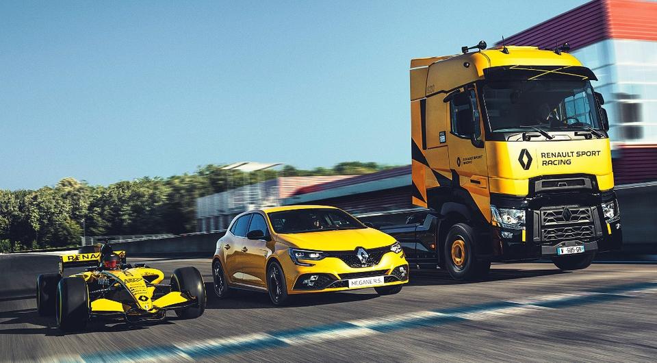 Магистральные спорт-траки от Renault Trucks: серия ограничена!