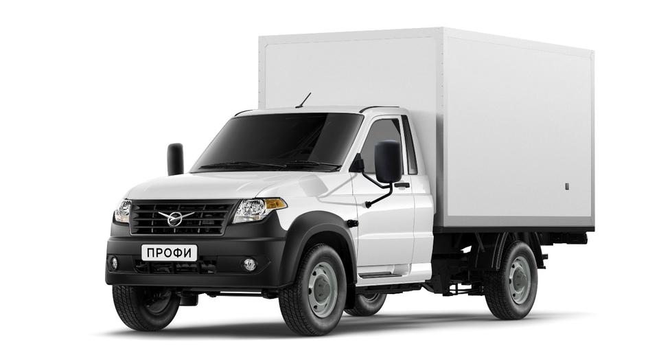 «УАЗ Профи» в продаже с кузовом-фургоном