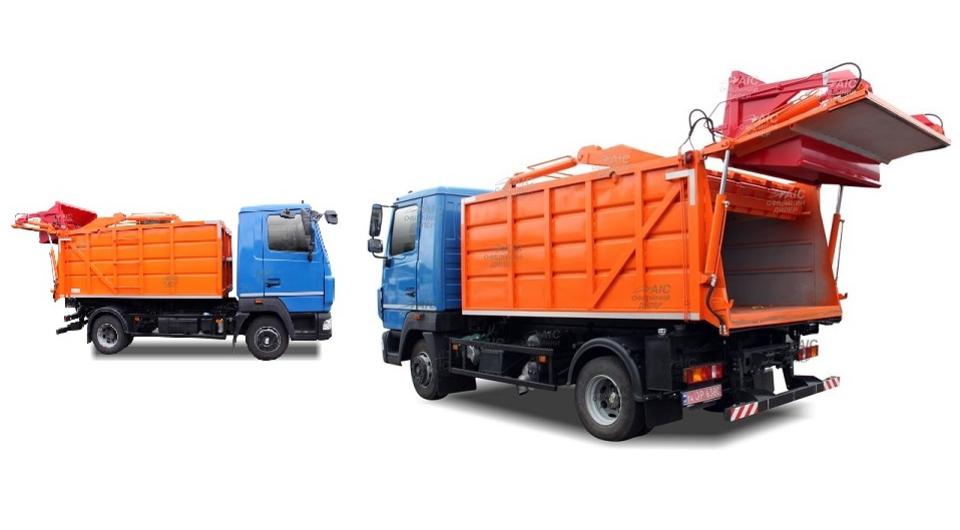 В Украине начат выпуск нового мусоровоза